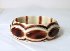 Lea Stein RARE Orig1960s Vintage Laminated BOOK PIECE Bangle Bracelet Celluloid