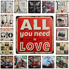 Vintage Retro Metal Tin Sign Poster Plaque Bar Pub Club Wall Home Decor 20x30 cm