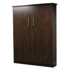 Murphy bed Queen Size, Midnight Espresso Color - Made By Murphy Wallbed USA