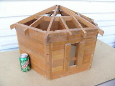 A Log Grainery Salesman's Sample Model Kalispell MT Lincoln Logs Doll House T