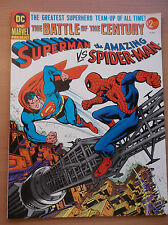 DC & MARVEL PRESENT: SUPERMAN VS SPIDERMAN, BATTLE OF THE CENTURY,1978, NM!!!