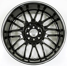 RUFF RACING 951 18 x 8.0 BLACK B3 RIMS WHEELS MINI COOPER 4 x 100 +40