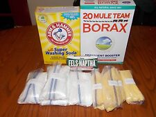 40 GALLON HOMEMADE LAUNDRY  DETERGENT  SOAP KIT ( 1 Gallon Recipe Included )