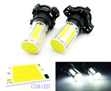 2x PY24W 5200 COB LED for LAND ROVER BMW AUDI Front Turn Signal Light 25W WHITE