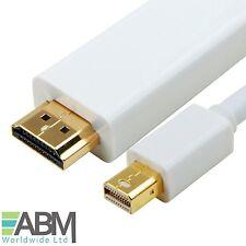1M Meter Mini Display Port to HDMI TV Cable Adapter for MacBook Air Pro iMac UK