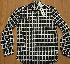 "Mens McQ Alexander McQueen ""Shields 04"" Sport Shirt Black/White 54 US 44"