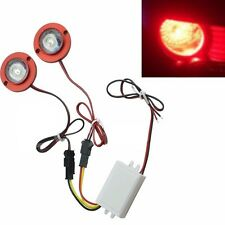 Coche Auto durable 2 LED Bombilla de luz estroboscópica Flash de advertencia de emergencia con controlador