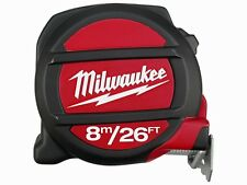 Milwaukee MIL48225225 Tape Measure 8m / 26ft (Width 27mm)