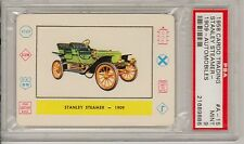 1958 CARDO TRADING #A-15, PSA GRADED MINT 9, STANLEY STEAMER 1909, DEAD CENTERED