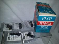 5 PECO ST-273 TWIN POWER CONNECTING CLIPS  NEW IN PACKETS