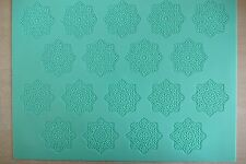 LARGE SILICONE MAT MOULD FOR SUGAR CAKE DECORATING LACE (caketoppers) Pavoni