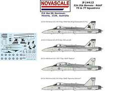 RAAF F/A-18 Hornet 75&77 Sqn Decals 1/144 Scale N14413