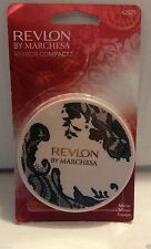 Revlon by Marchesa Mirror Compact NEW Pink Magnifying Dual Sided