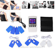 LCD Display Electrotherapy Physiotherapy Pulse Massager Muscle Stimulator Voice