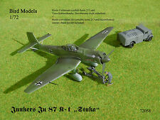 Junkers Ju 87 K-1 (mit Jumo 213)   1/72 Bird Models Umbausatz / resin conversion
