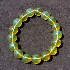 Calibrated Mexican Amber Sphere Bracelet 17.9 g, Grade b+, Sphere dimension: ...