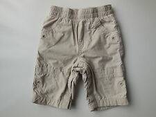 GAP baby boy or girl light beige cotton pants size 000 Fits 0-3 mths EUC