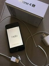Apple IPhone 4S 16GB Unlocked Black No Sim