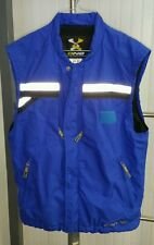Descente DNA Beaver Creek CO Blue Mountain Outdoor Ski Fishing Vest Men's Small