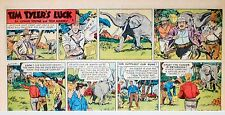 Tim Tyler's Luck by Young & Massey - full color Sunday comic page - May 20, 1956