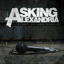Asking Alexandria - Stand Up and Scream  (CD, 2009, Sumerian Records)