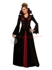 Ladies Queen Of Vampires Hallowen Bride Of Dracula Vampiress Fancy Dress Costume