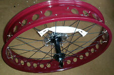 "Fat Bike Rear Cycle Wheel - 26"" x 4"" Disc Brake - including 9 speed - Reduced"