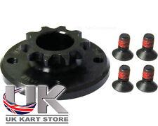 Iame X30 Kart 10t Clutch Sprocket & Bolts X30125554-C Genuine