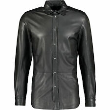 DIESEL Leather Shirt,  L,  RRP £520