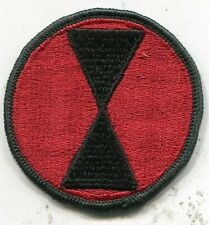 Vietnam Era US Army 7th Infantry Division Color Patch