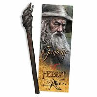 The Hobbit Gandalf Staff Pen and Lenticular Bookmark - Official LOTR Gift