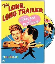 The Long Long Trailer Lucille Ball Desi Arnaz DVD NEW