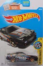 2016 Hot Wheels HW SPEED GRAPHICS 1/10 '96 Nissan 180SX Type X 176/250 (Black)