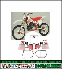 kit adesivi stickers compatibili   mx 125 250 300 500 1989