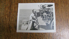 VTG PHOTOGRAPH OF US NAVY JETS RE-FUELING STATION ABOARD AIRCRAFT CARRIER