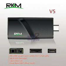 NEW V5 4K Quad Core RK3288 2GB 16GB Android 4.4 TV Dongle Dual WiFi Gigabit XBMC