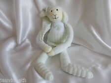 Doudou mouton blanc et vert, Luminou