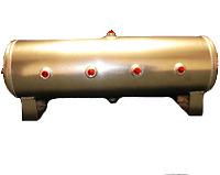 8 - 1/2 Gallon Aluminum Air Tank            air ride horns bagged