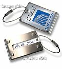 UNITED Airlines -CREW LUGGAGE TAG (METAL)