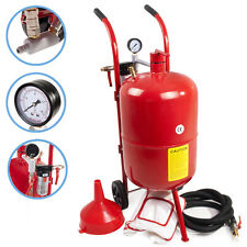10 GALLON 37 L PORTABLE POT BEAD AIR SAND GRIT BLAST DIY BLASTING SANDBLASTER