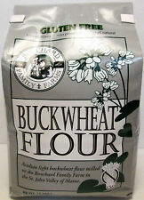 Bouchard Family Farms Gluten Free Acadian Light Buckwheat Flour, 3 lb Bag