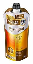 Kao Essential Auto Smooth Technology Cuticle Care Shampoo 340ml Refill