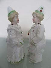 "PAIR OF RARE 1920's  PORCELAIN  ""NODDER"" FIGURINES"