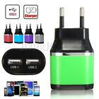 5V 3.1A 2 Ports USB Travel Home Wall Power Charger Adapter for Phone Tablet GPS