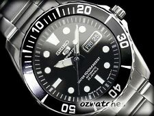 SEIKO 5 SPORTS MENS AUTOMATIC WATCH SNZF17 SNZF17J1 BLACK DIAL MADE IN JAPAN