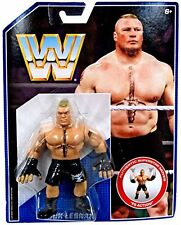 WWE BROCK LESNAR RÉTRO ACTION MATTEL 1 ONE FIGURINE LUTTE HASBRO STYLE WWF