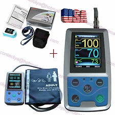 FDA Ambulatory Blood Pressure Patient Monitor 24h NIBP Holter,CONTEC ABPM50 USA