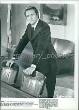 1971 Richard Crenna in Scene from Doctors' Wives Original News Service Photo