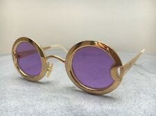 Vintage Rare Christian Dior 90s Sunglasses Mother Of Pearl Gold Plated Pink