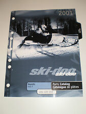SKIDOO  PARTS CATALOG  MANUAL 2001  SKANDIC 440 F